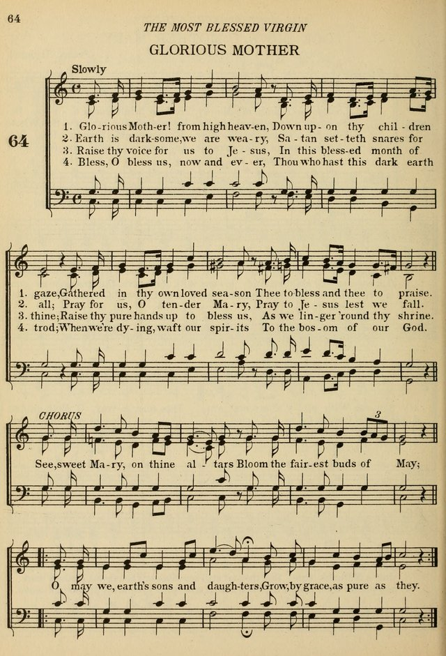The De La Salle Hymnal: for Catholic schools and choirs page 64
