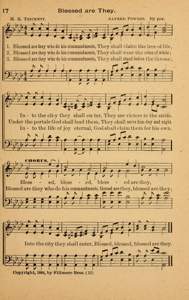 The Evangelist No. 3.  (Music ed.) page 13