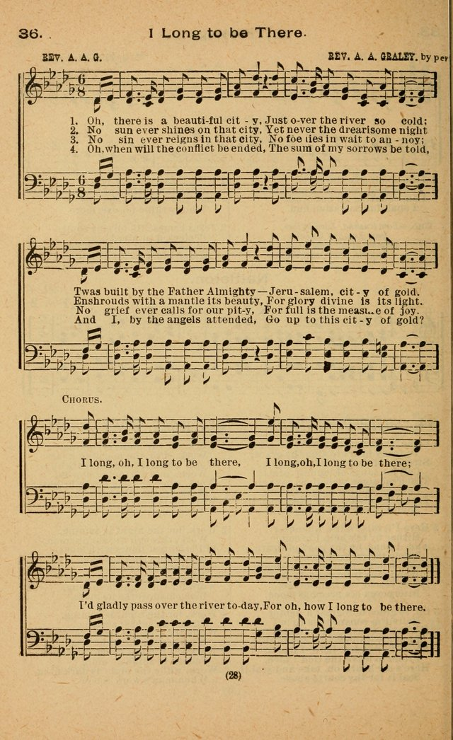 The Evangelist No. 3.  (Music ed.) page 28