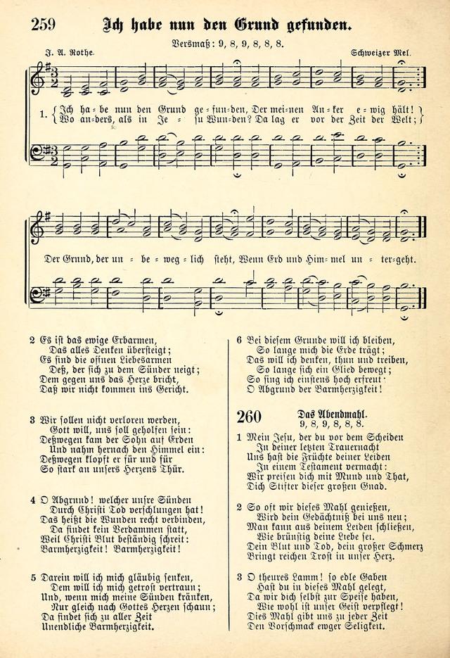 Evangelisches Gesangbuch. Die kleine Palme, mit Anhang 259. Ich habe ...