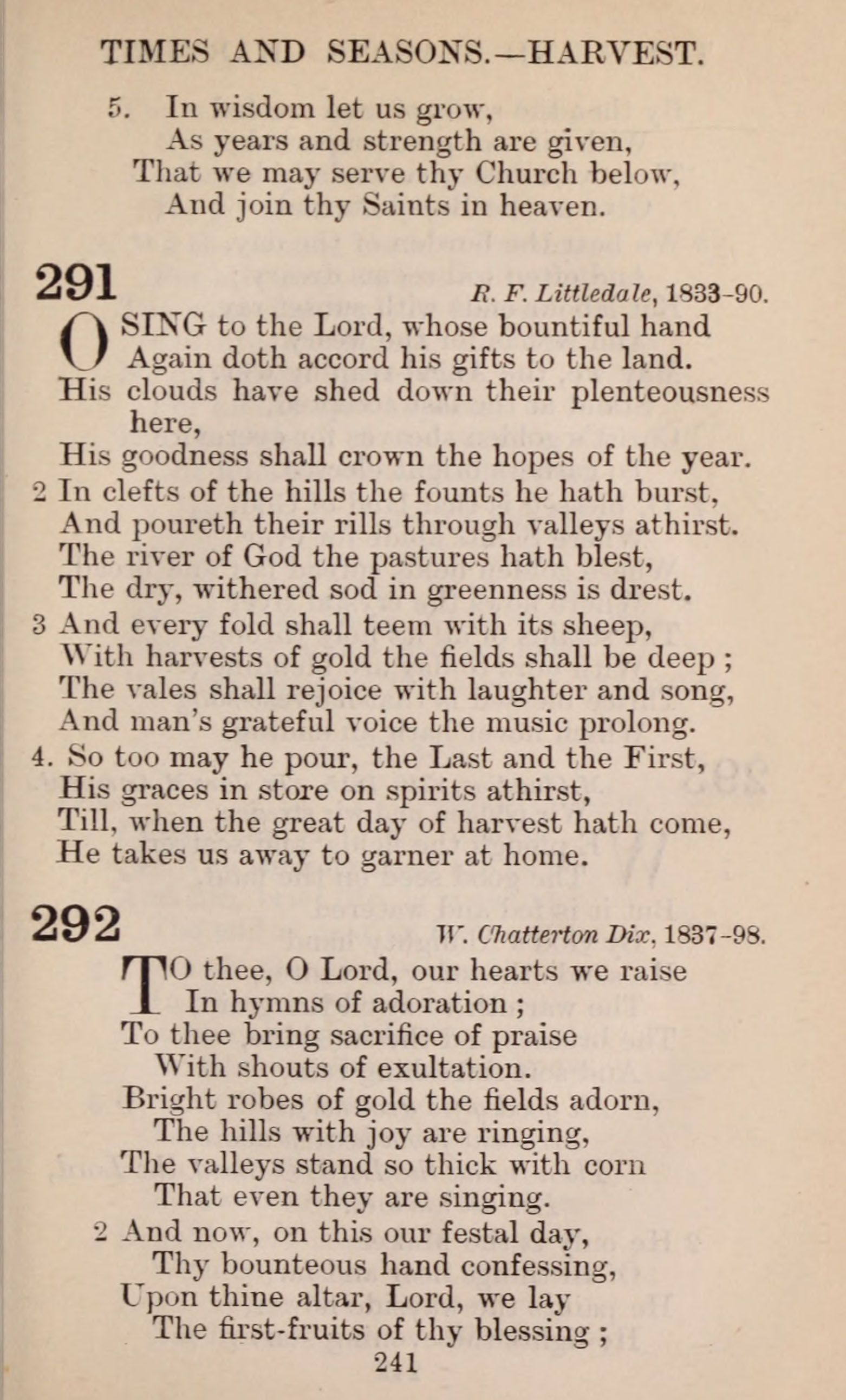 The English Hymnal page 241