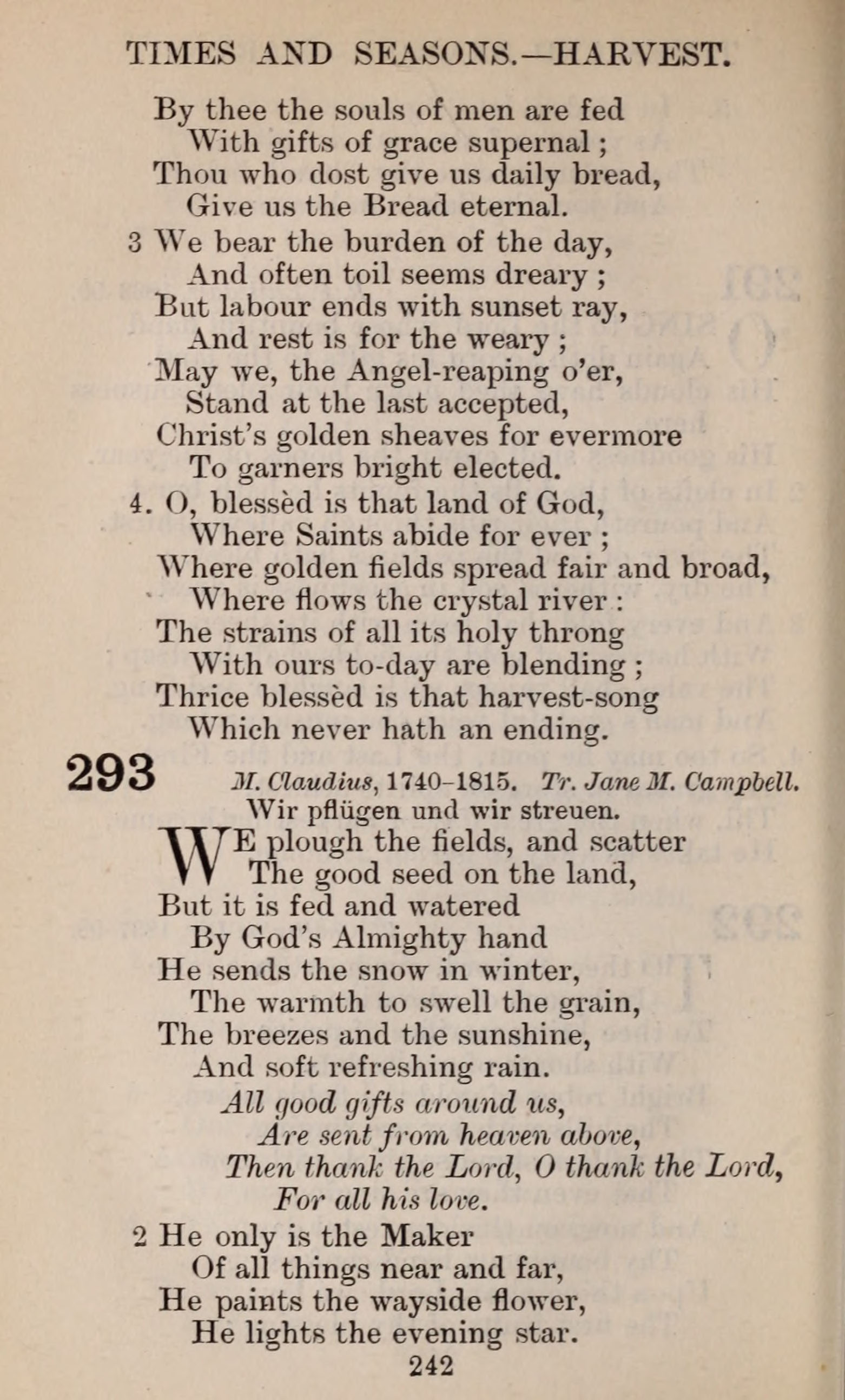 The English Hymnal page 242