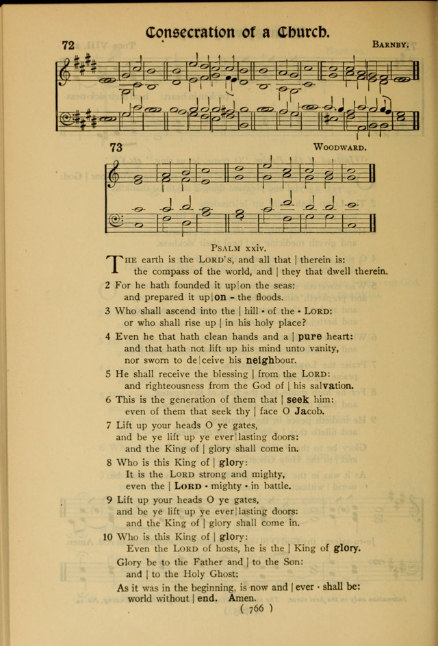 The Hymnal: as authorized and approved by the General Convention of the Protestant Episcopal Church in the United States of America in the year of our Lord 1916 page 841