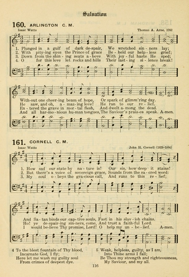The Evangelical Hymnal page 118