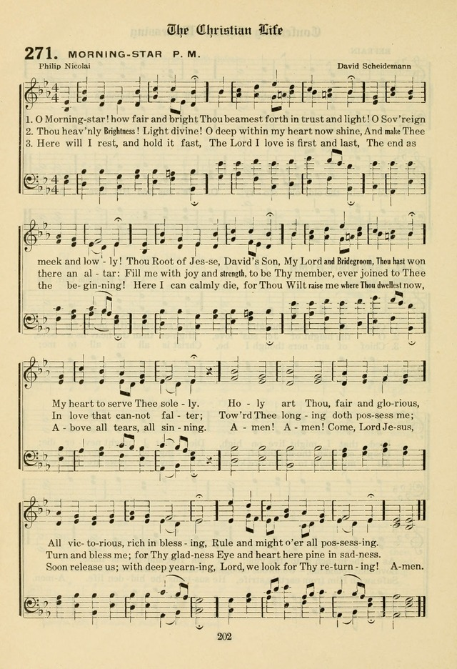 The Evangelical Hymnal page 204