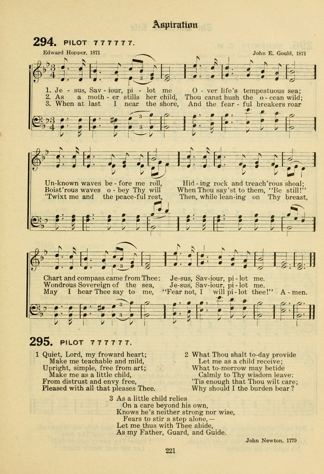 The Evangelical Hymnal page 223