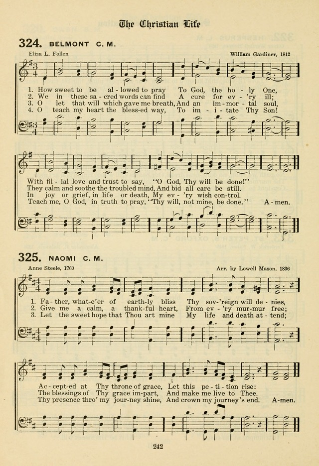 The Evangelical Hymnal page 244