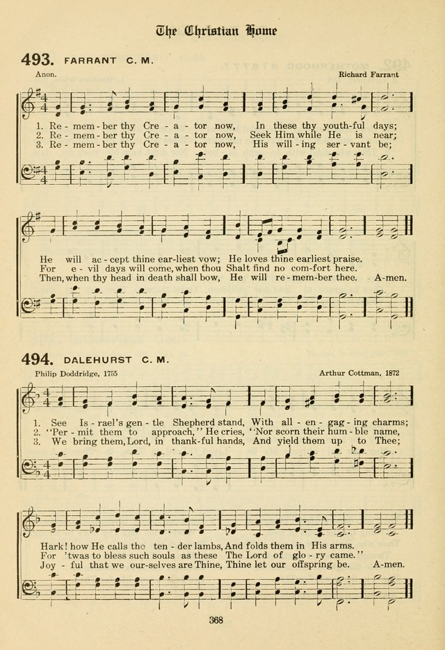 The Evangelical Hymnal page 370
