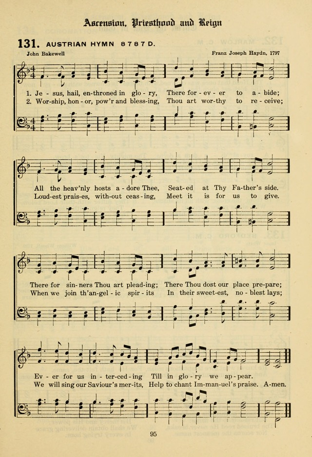 The Evangelical Hymnal page 97