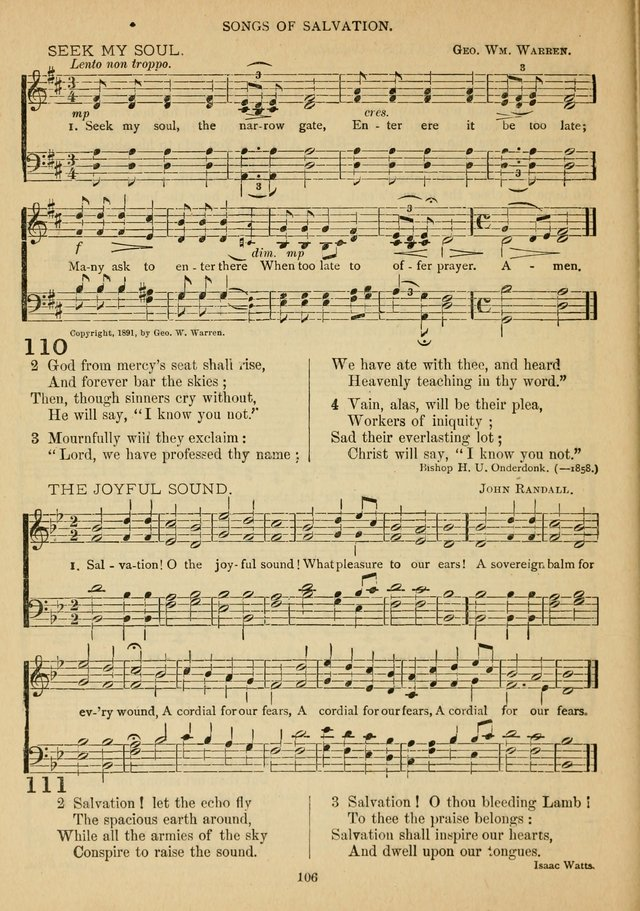 The Epworth Hymnal No. 2 page 113