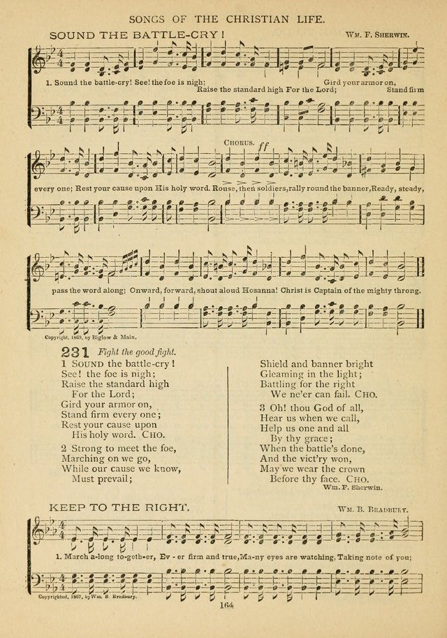 The Epworth Hymnal: containing standard hymns of the Church, songs for the Sunday-School, songs for social services, songs for the home circle, songs for special occasions page 169