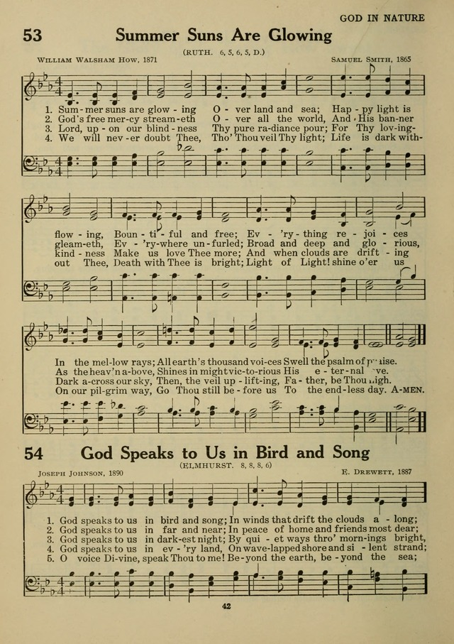 Elmhurst Hymnal: and orders of worship for the Sunday school, young people