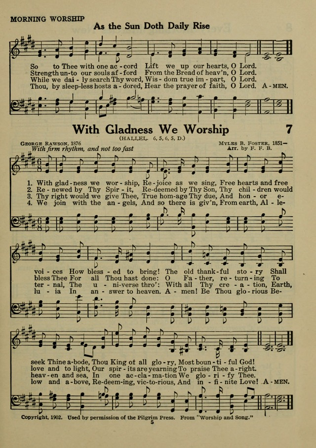 With gladness we worship, Rejoice as we sing | Hymnary org