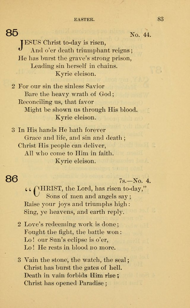 Evangelical Lutheran Hymnal page 83