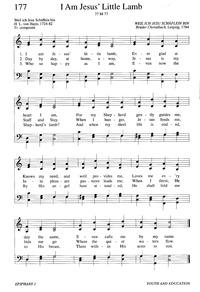 I Am Jesus Little Lamb Hymnary Org