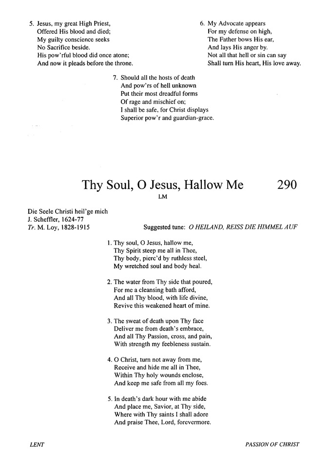 Evangelical Lutheran Hymnary 289  Join all the glorious names