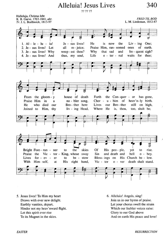 Evangelical Lutheran Hymnary page 607