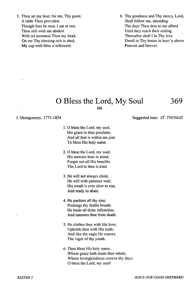 Lyric lyrics to bless the lord oh my soul : O Bless the Lord, My Soul | Hymnary.org