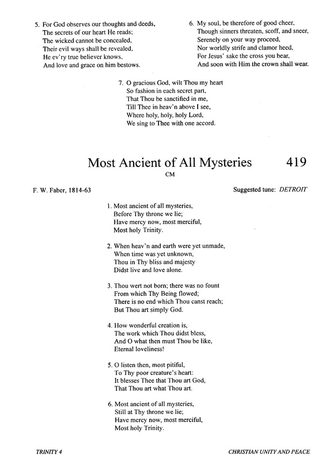 Most Ancient of All Mysteries | Hymnary org