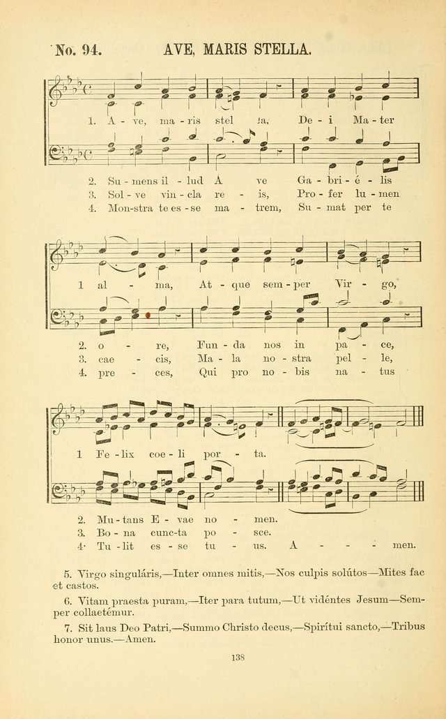 English and Latin Hymns, or Harmonies to Part I of the Roman Hymnal: for the Use of Congregations, Schools, Colleges, and Choirs page 151