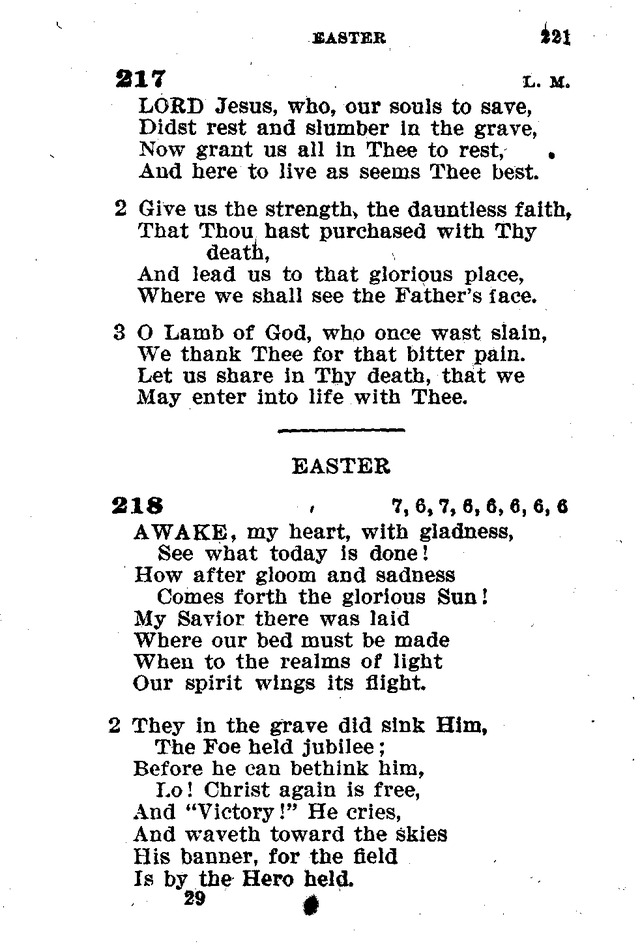 Evangelical Lutheran Hymn-book page 449