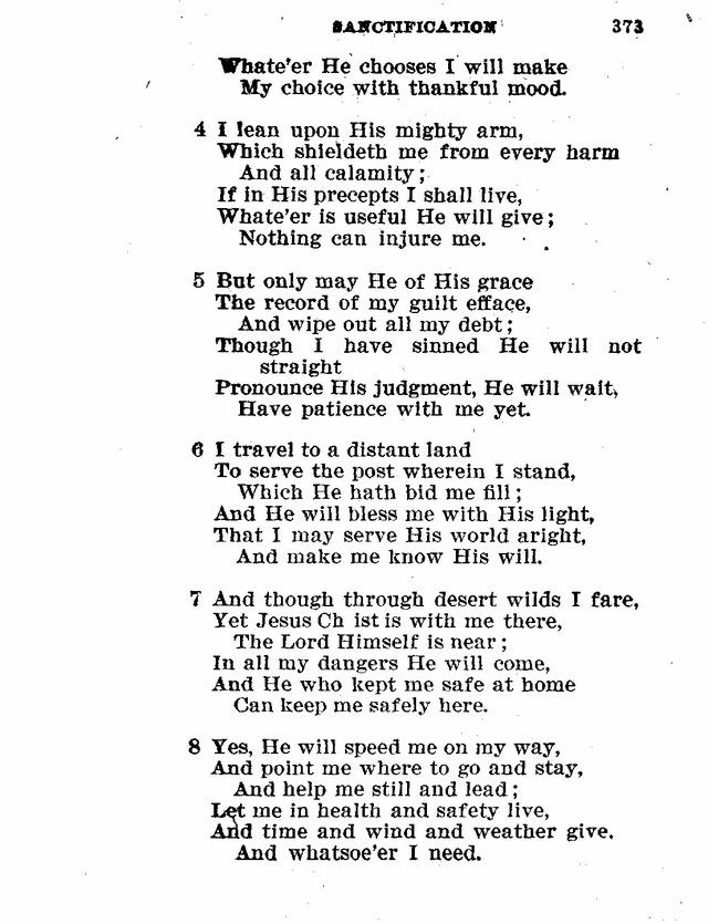 Evangelical Lutheran Hymn Book 372 Whereer I Go Whateer My Task