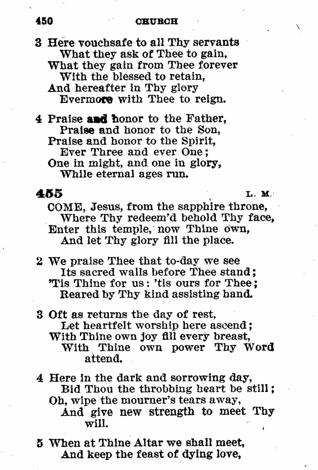 Evangelical Lutheran Hymn-book page 678