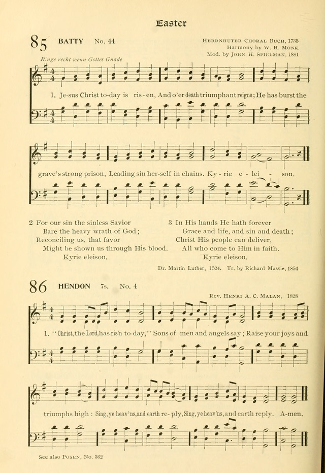 Evangelical Lutheran hymnal: with music page 149