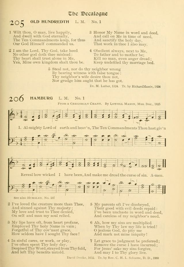 Evangelical Lutheran hymnal: with music page 244
