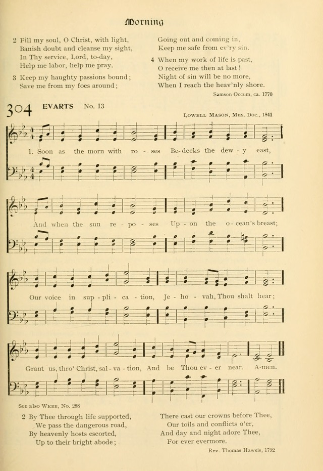Evangelical Lutheran hymnal: with music page 332