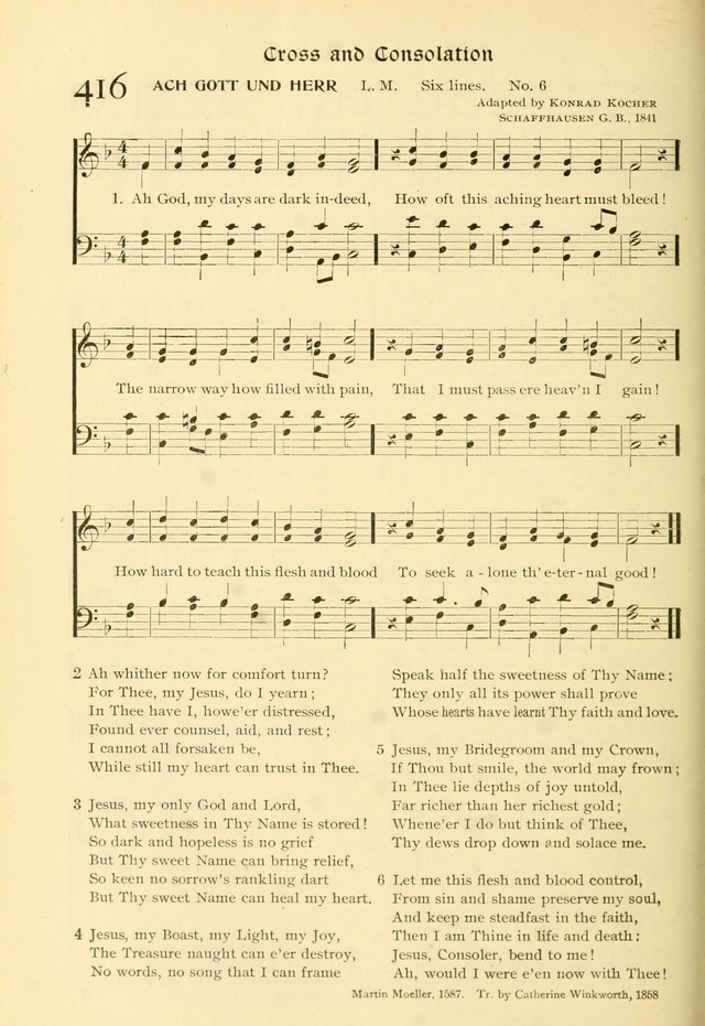 Evangelical Lutheran hymnal: with music page 419