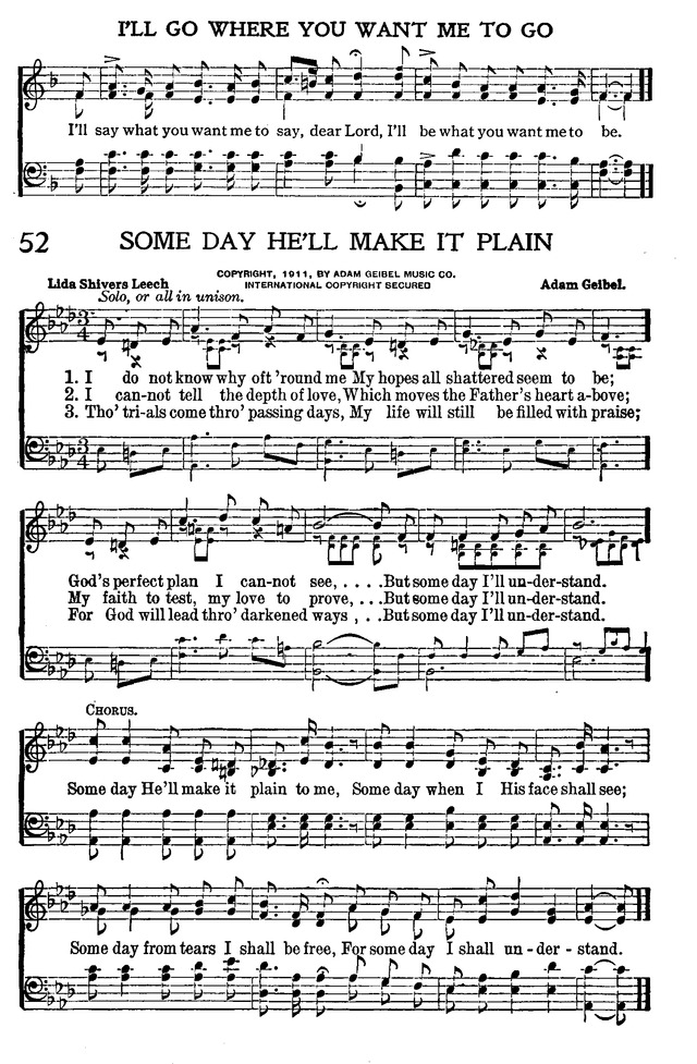All Music Chords plain sheet music : I do not know why oft 'round me - Hymnary.org