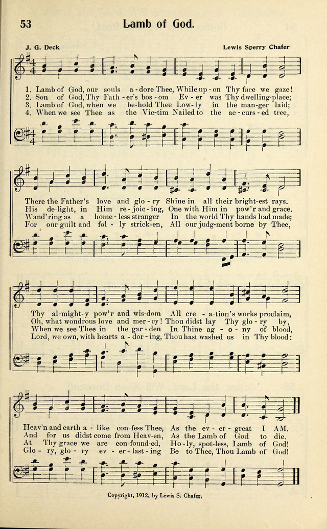 Evangelistic Songs page 53
