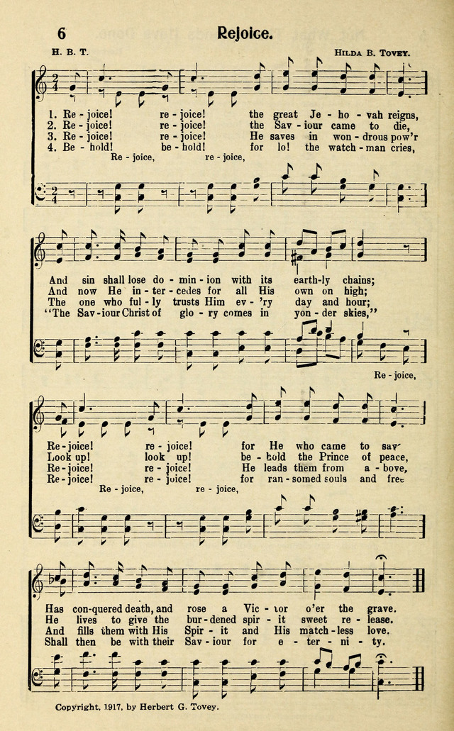 Evangelistic Songs page 8