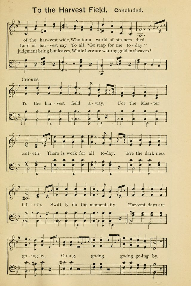 Excellent Songs for the Church and Sunday School page 141