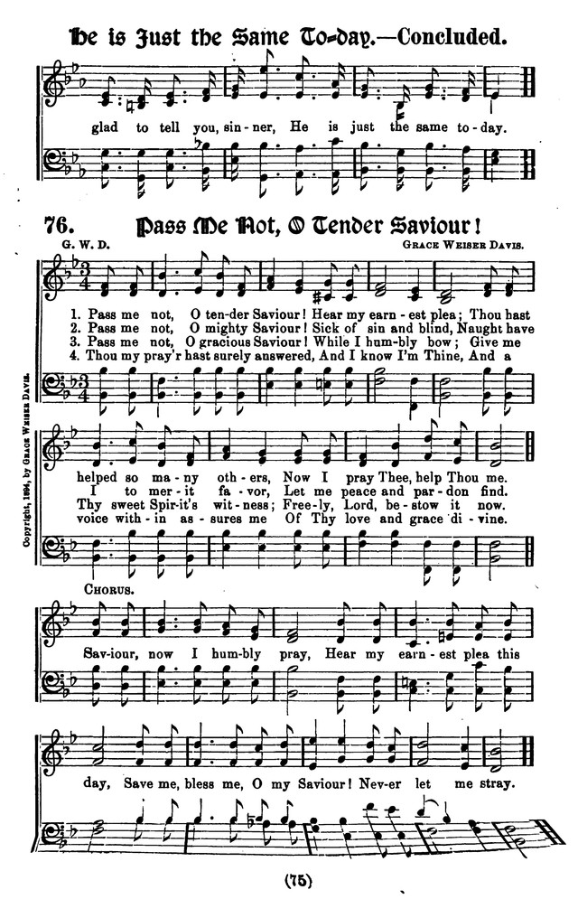 Favorite Gospel Songs page 71