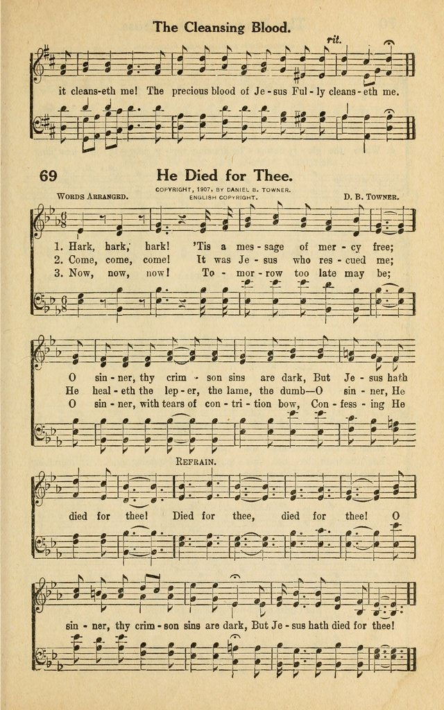 Famous Hymns page 74