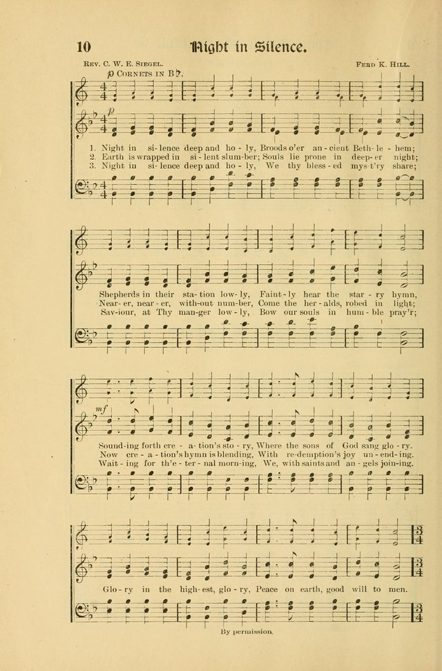 Forms and Hymns for Christmas: for the use of Sunday schools and chruches page 20