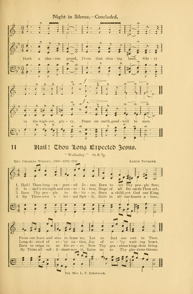 Forms and Hymns for Christmas: for the use of Sunday schools and chruches page 21