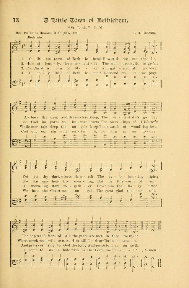 Forms and Hymns for Christmas: for the use of Sunday schools and chruches page 23