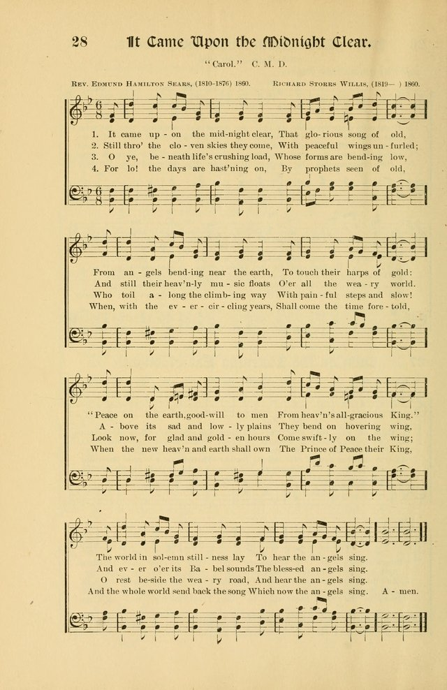 Forms and Hymns for Christmas: for the use of Sunday schools and chruches page 36