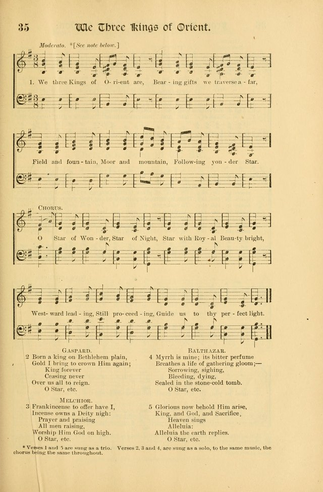 Forms and Hymns for Christmas: for the use of Sunday schools and chruches page 43