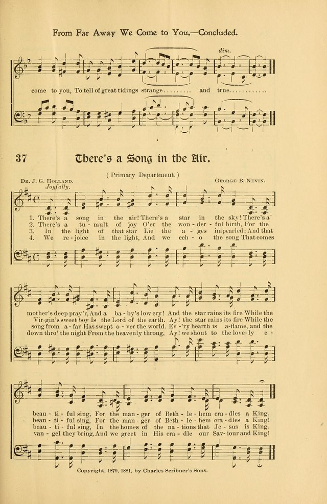 Forms and Hymns for Christmas: for the use of Sunday schools and chruches page 45