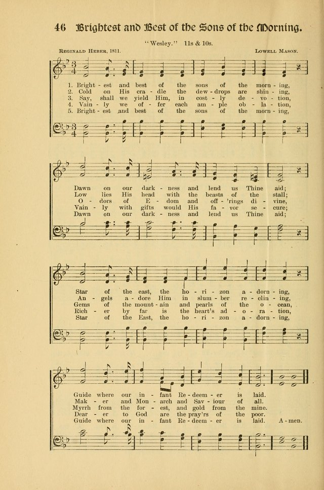Forms and Hymns for Christmas: for the use of Sunday schools and chruches page 54