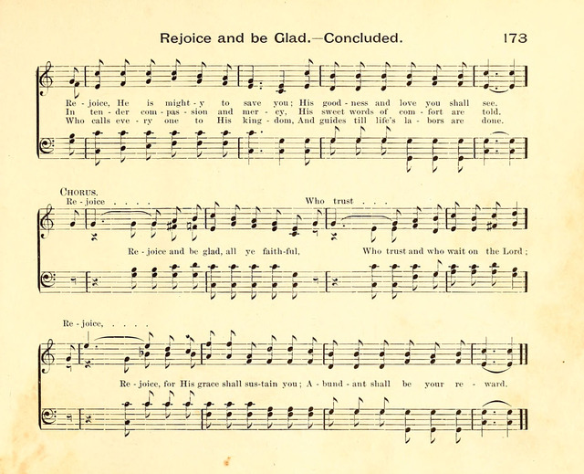 Fair as the Morning. Hymns and Tunes for Praise in the Sunday-School page 171
