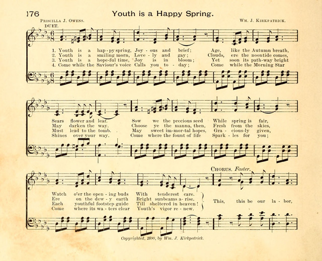 Fair As The Morning Hymns And Tunes For Praise In The Sunday School