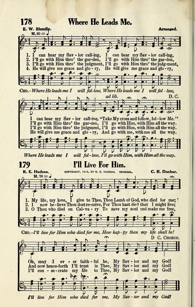 Full Redemption Songs 179. My life, my love I give to Thee ...