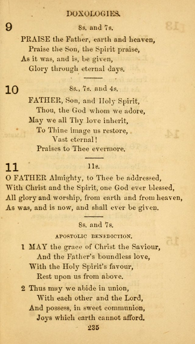 Fulton Street Hymn Book, for the use of union prayer meetings, Sabbath schools and families page 244