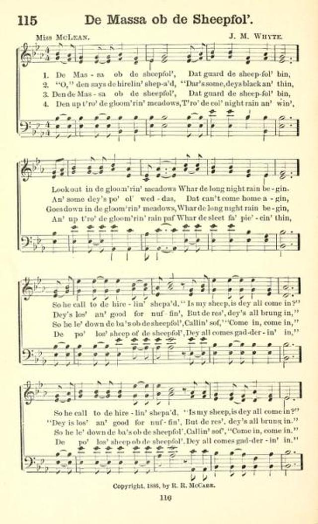The Finest of the Wheat: hymns new and old, for missionary and revival meetings, and sabbath-schools page 115