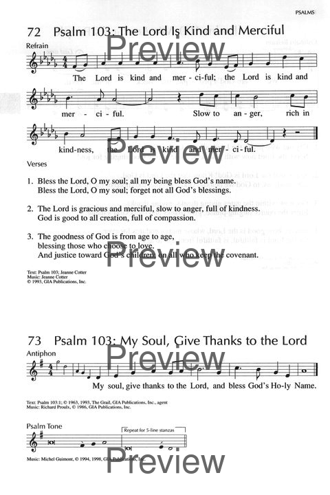 Lyric lyrics to bless the lord oh my soul : Psalm 103: The Lord Is Kind and Merciful | Hymnary.org